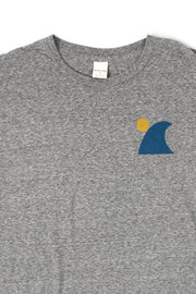 Bridge & Burn Men's Surf Grey t-shirt