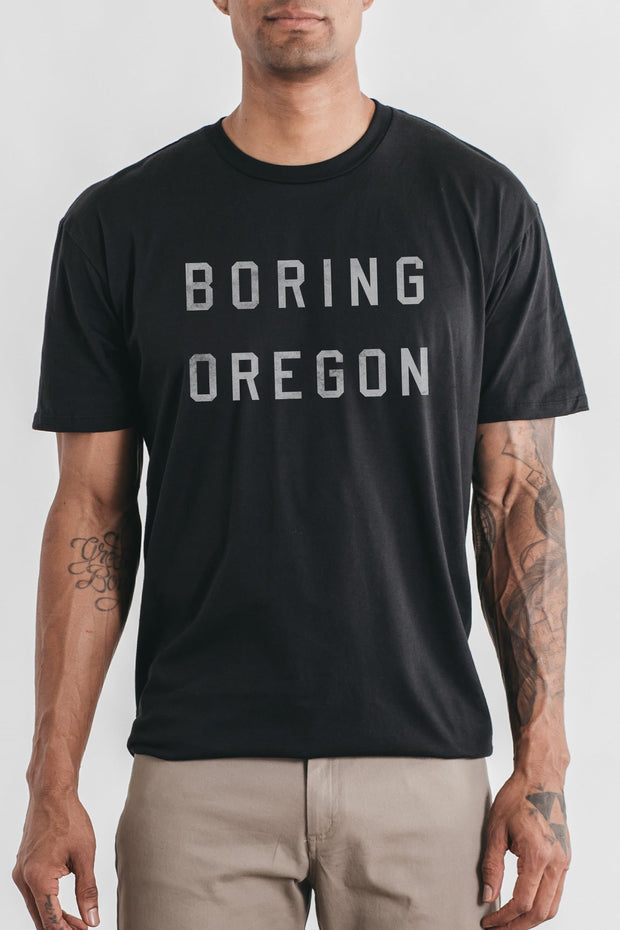 Men's Boring Oregon Black