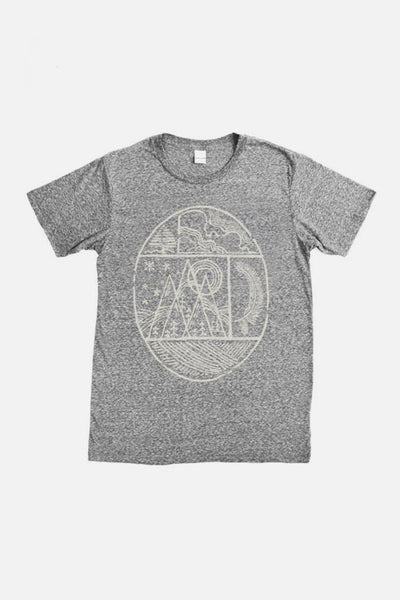 Men's Nature Oval Grey