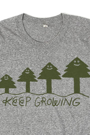Men's Keep Growing By Jason Sturgill Grey