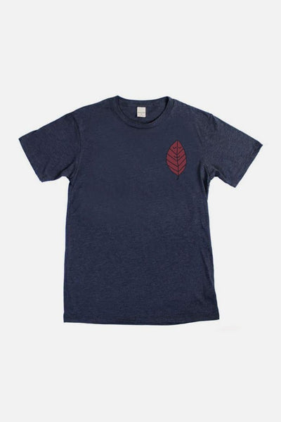 Bridge & Burn Men's Leaf By Jason Sturgill Navy