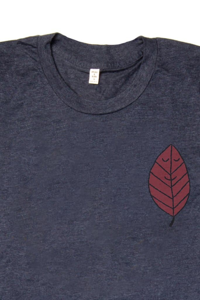 Bridge & Burn Women's Leaf By Jason Sturgill Navy