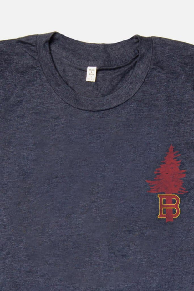 Men's B Tree Navy T-Shirt