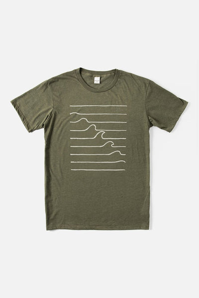 Men's Wave Formation Olive