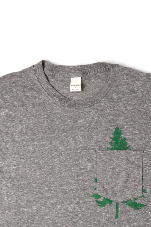 Men's Evergreen Pocket Grey