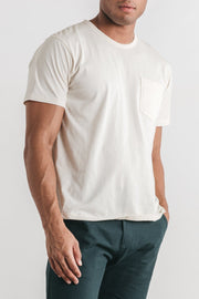 Men's Premium Pocket Tee Ivory