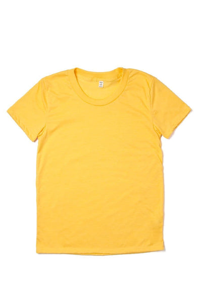 Women's Bridge & Burn Basic Tee Gold