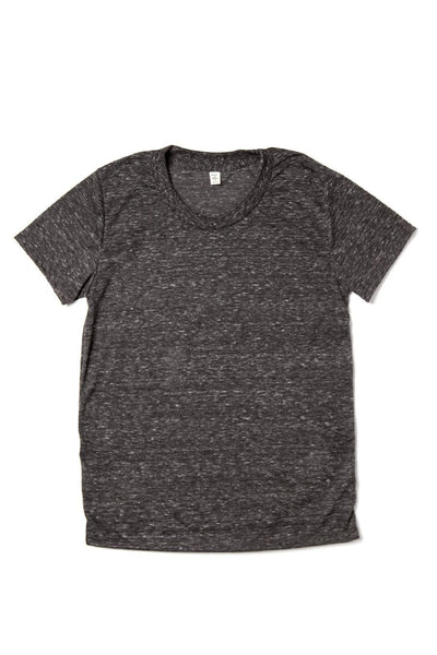 Women's Bridge & Burn Basic Tee Heather Coal