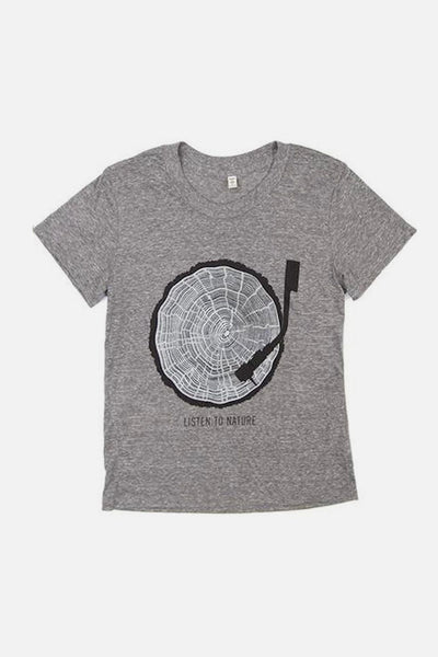 Women's Listen To Nature Grey