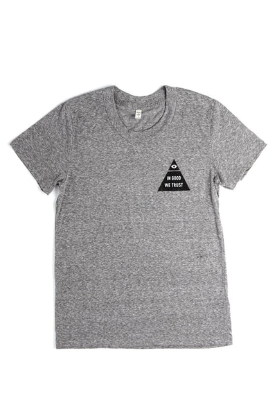 Women's In Good We Trust Grey