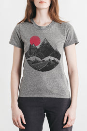 Women's Mountain Block Grey