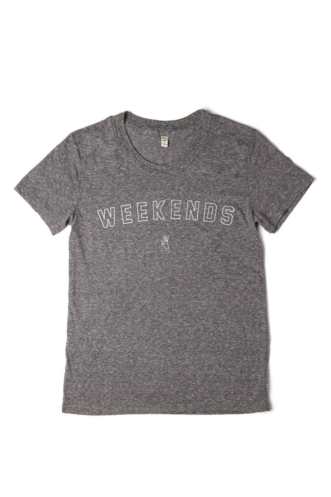 Women's Weekends Grey