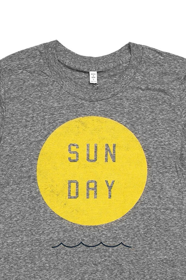 Women's Sun Day Grey T-Shirt