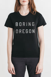 Women's Boring Oregon Black