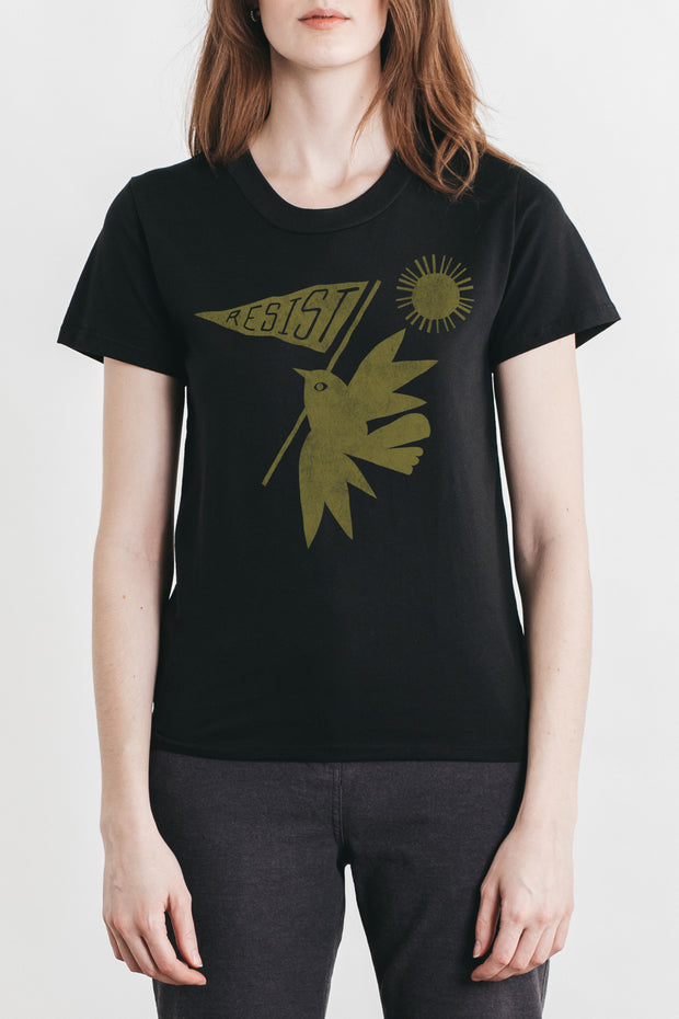 Women's Resist Bird Black