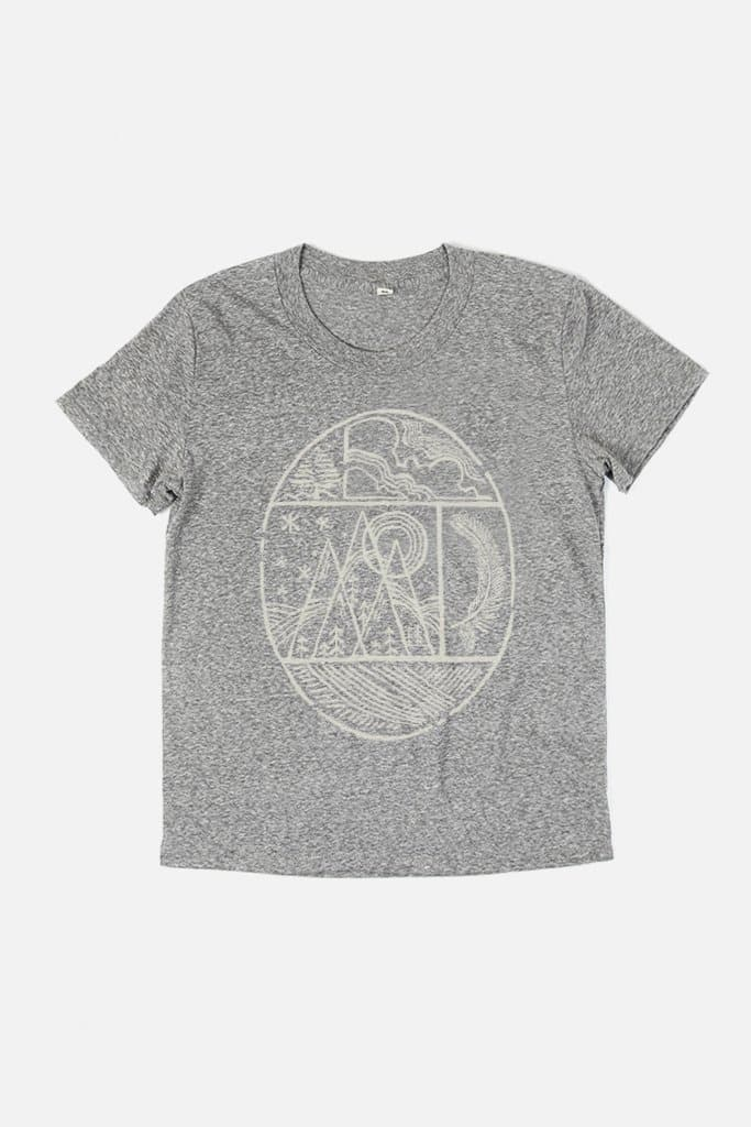 Women's Nature Oval Grey