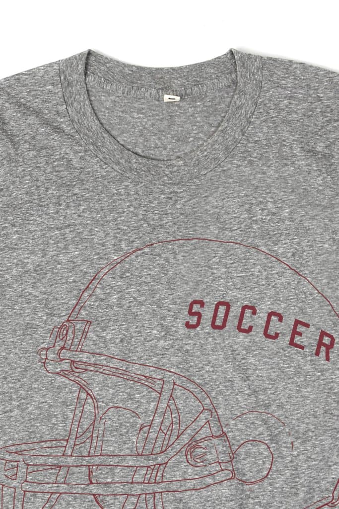 Women's Soccer Grey T-Shirt