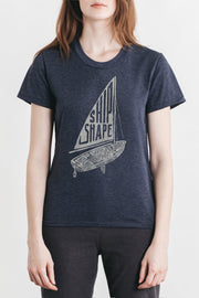 Women's Ship Shape Navy