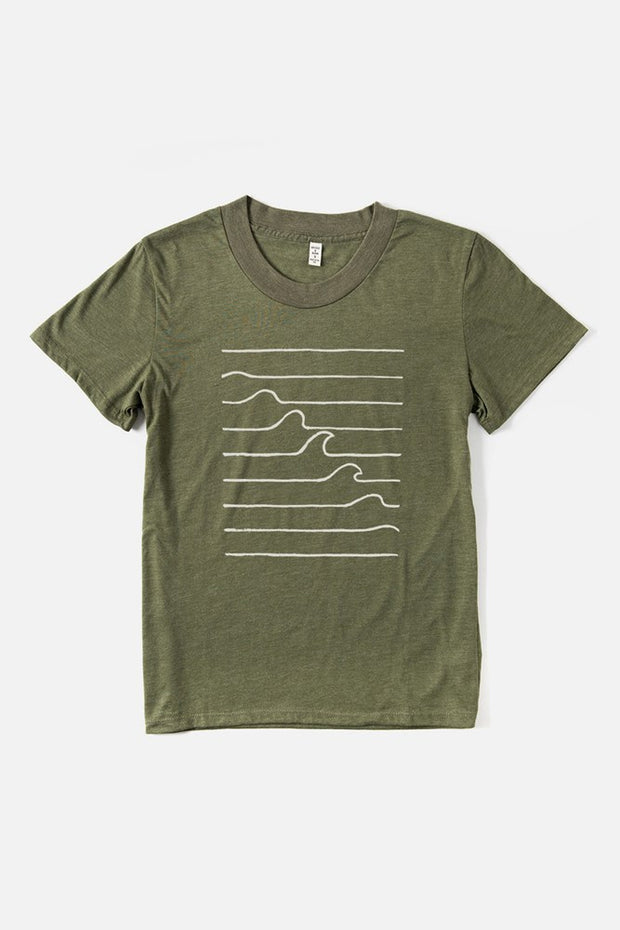 Women's Wave Formation Olive