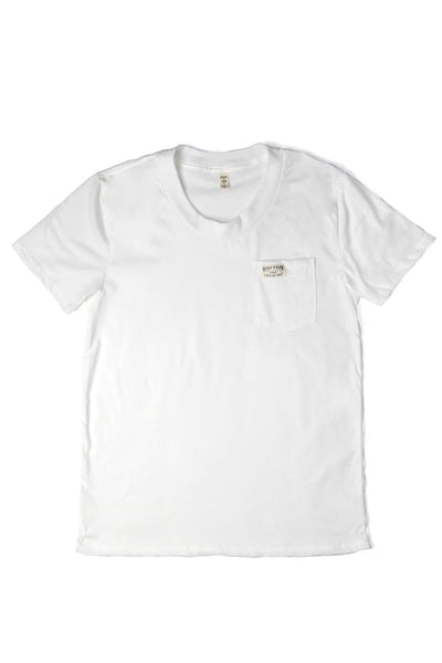 Women's Bridge & Burn Search & Enjoy Pocket Tee Ivory