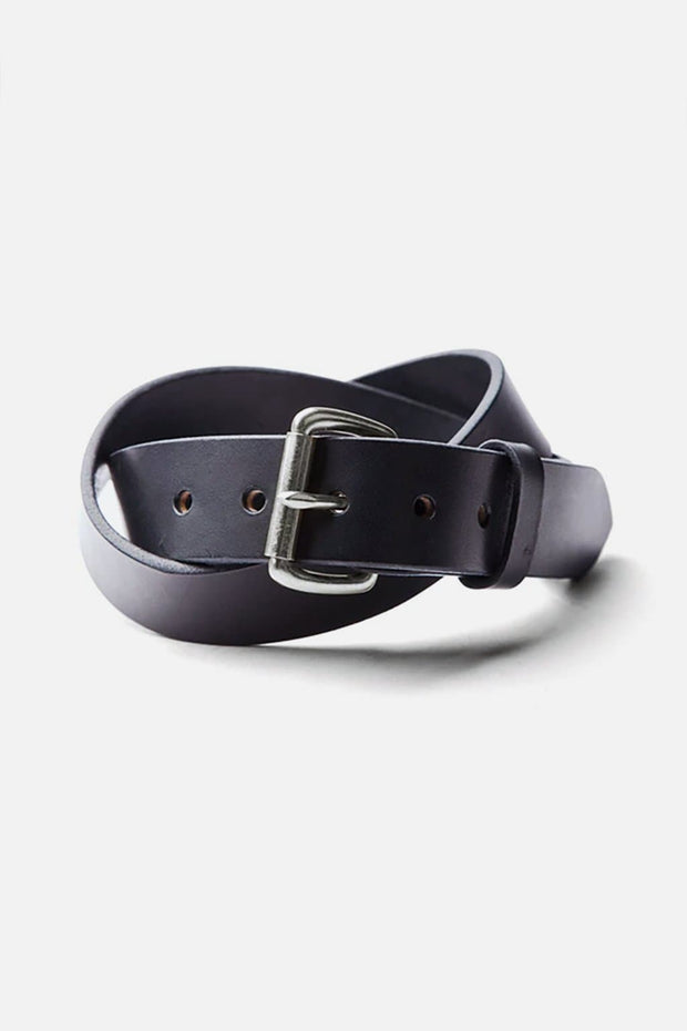 Tanner Goods Standard Belt Black Stainless
