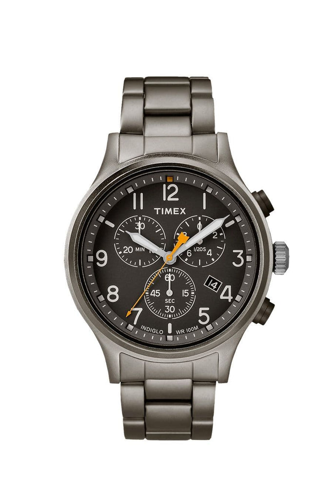 Timex Allied Chronograph Watch Gunmetal Black