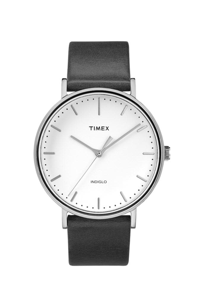 Timex Fairfield Slip Thru Black White