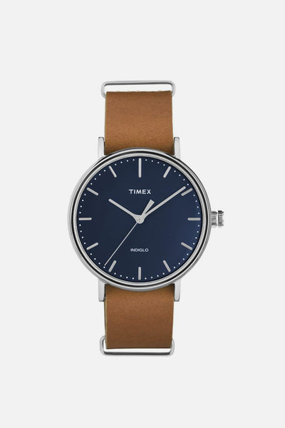 Timex Fairfield Slip Thru Tan Navy