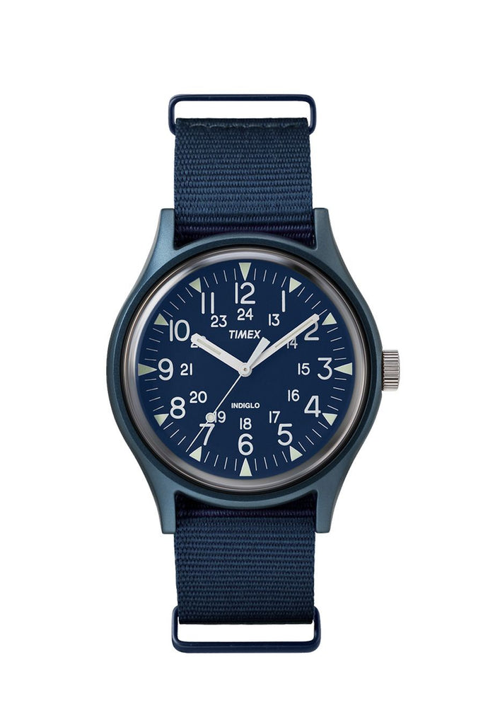 Timex MK1 Aluminum Camper Watch Navy
