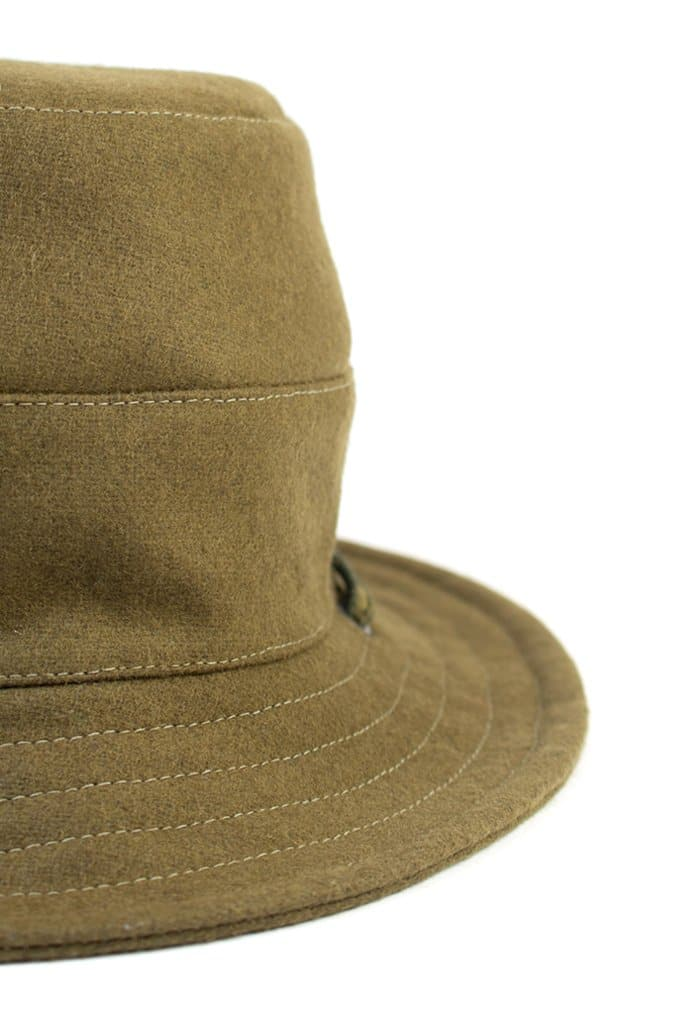 Tsuyumi Bucket Hat With String Olive