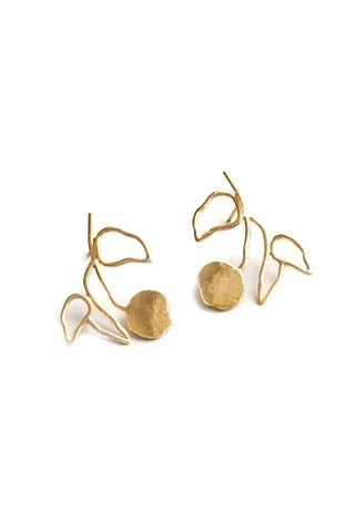 Wolf Circus Elsworth Earrings Gold