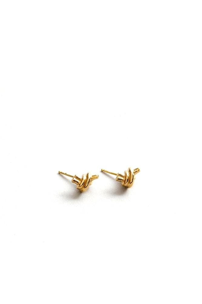 Wolf Circus Emery Studs Gold
