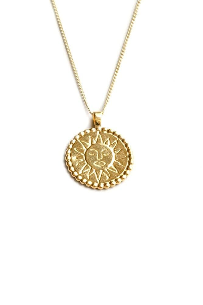 Wolf Circus Lumen Necklace Gold