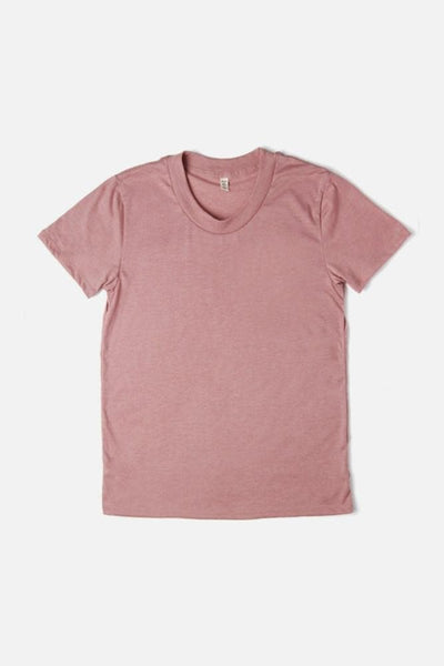 Women's Bridge & Burn Basic Tee Petal