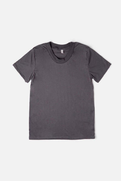 Women's Bridge & Burn Basic Tee Charcoal