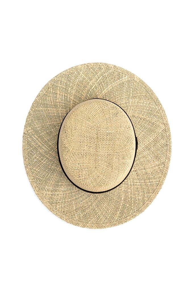 Yellow 108 Billie Straw Hat Palm