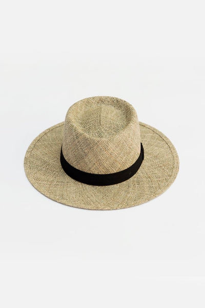 Yellow 108 Neil Straw Hat Seagrass