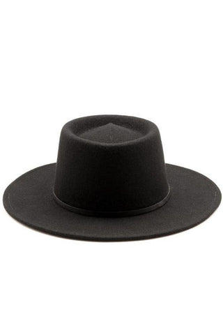 Wayne Hat Black