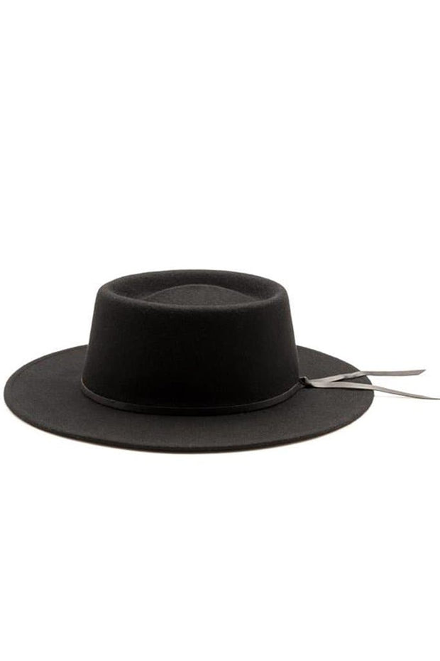 Yellow 108 Wayne Hat Black