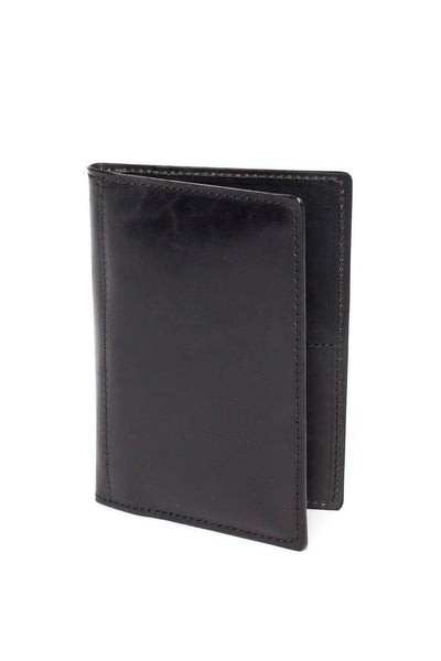 Wood&Faulk Traveler Wallet Black
