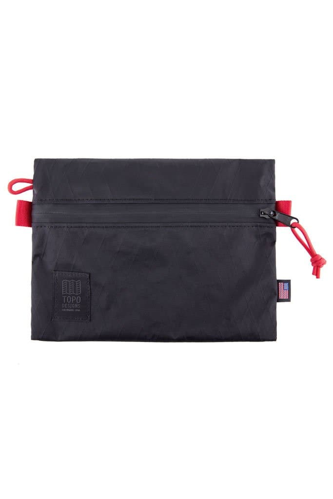Topo Designs Accessory Bag Medium X-Pac Black
