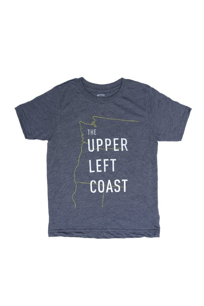 Upper Left Coast Kid's Tee