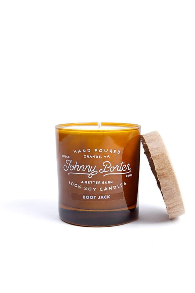 Johnny Porter Boot Jack Candle