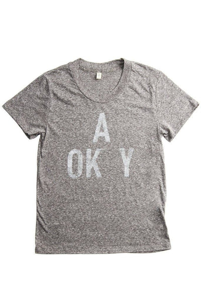 Women's A OK Grey
