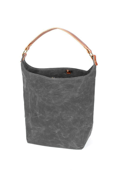 Wood&Faulk Anvers Market Tote North Coast Grey