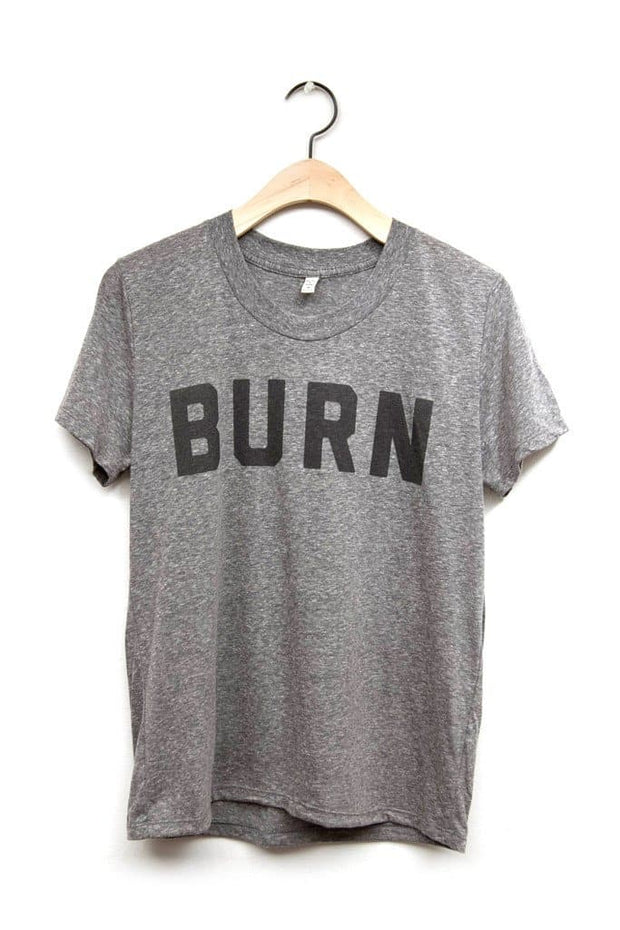 Women's BURN Grey T-Shirt