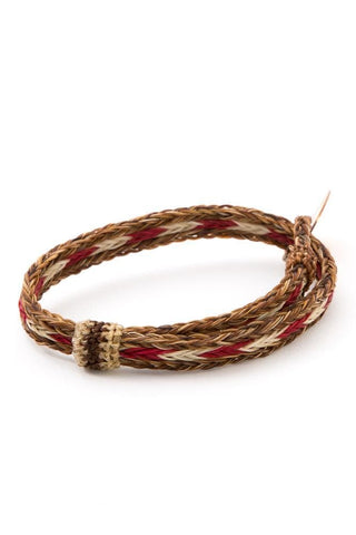 Chamula Horse Hair Woven Bracelet Brown