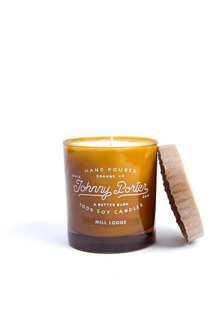 Johnny Porter Mill Lodge Candle