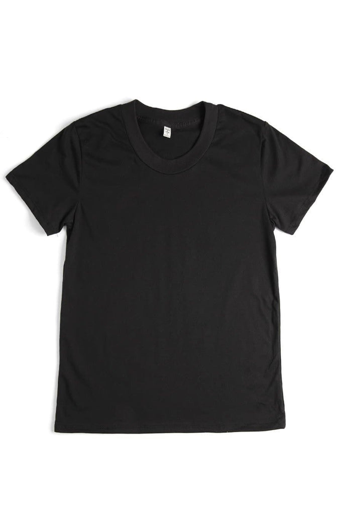 Women's Bridge & Burn Basic Tee Black