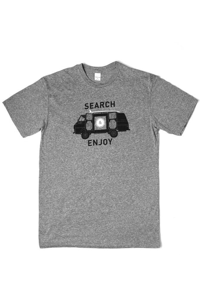 Men's Search Van Grey